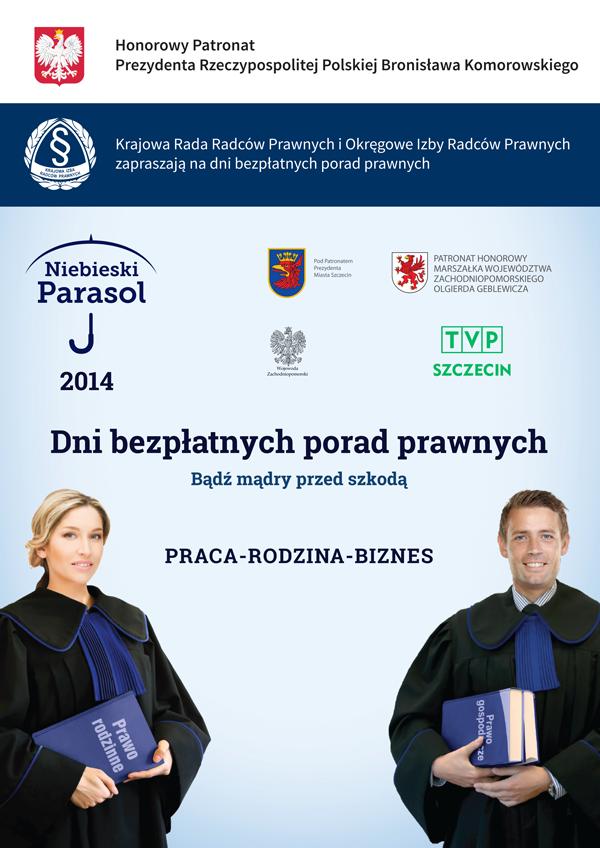 Niebieski Parsol 2014